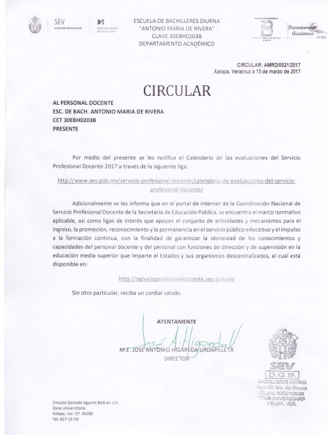Escuela de Bachilleres Diurna Antonio Mara de Rivera